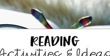 Reading Activities and Ideas / Great board with tons of ideas for reading activities for elementary students and struggling readers.