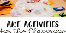 Art Activities for the Classroom / Great arts and crafts activities for elementary classrooms.