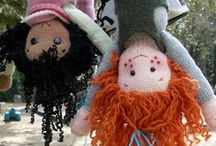All Dolls Sewn of Cloth: Art Dolls, Play Dolls & Softies / Dolls that are sewn & stuffed....art dolls for adults, play dolls for kids, bunnies, bears and other cuties