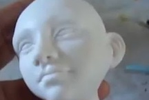 CLAY | Sculpting dolls, etc / Tutorials for sculpting mixed media dolls plus designing and making armatures.    See BJD board for that specialty and clay board for modeling figurines and clay figures.