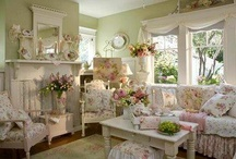 DECORATING | Cottage Chic / My dream cottage which I do not own .....yet!