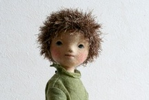 NF | dolls & figures / Dolls and figure sculpting done in 3D dry needle felting / by Whatzername ;-)
