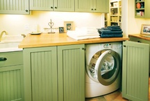 DESIGN | In the Laundry or Garage / decorating & organization ideas