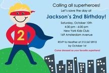 Brady's Super Hero Birthday / by Meghan Azam