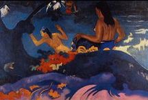 Paul Gauguin / (7 June 1848 -  8 May 1903) was a French Post-Impressionist artist / by Zofia Węgrzynowicz-Bogiel
