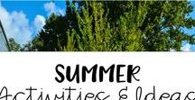 Summer Activities and Ideas / Tons of July and June activities and summer themed ideas and resources for elementary.