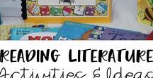 Reading Literature Activities and Ideas / Many literature activities to do with students in elementary grades.