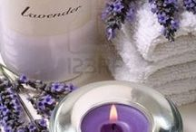 DECORATING | with lavender / decorating with the color and the plant