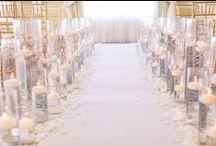 ..one fine day... wedding aisle / altar / arch / canopy decoration / Ceremony backdrop  / by Silja ♡