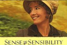 "Sense and Sensibility - the book, the movie + TV Mini-Series, THEE Colonel Brandon & THEE E. Ferrars / Sense and Sensibility is the 1st published novel by Jane Austen and it appeared in 1811 under the pseudonym ""A Lady"" - Sense and Sensibility directed by Ang Lee (1995) Starring: Emma Thompson, Kate Winslet, Alan Rickman, Hugh Grant - Sense & Sensibility directed by John Alexander (TV Mini-Series, 2005) Starring: Hattie Morahan, Charity Wakefield, David Morrissey, Dan Stevens / by Silja ♡"
