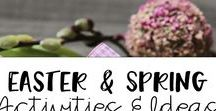 Easter and Spring Activities and Ideas / Great ideas  and activities for elementary to do during  Easter and spring.