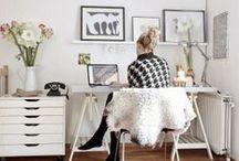 home: office / by Kiersten Mitchell