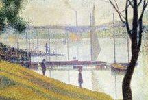 Artist: Georges Seurat & pointillism / pointillism