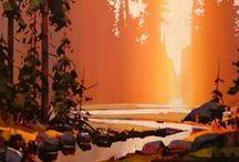 ART | Sunsets & light FX