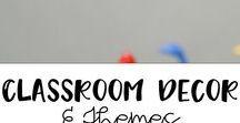 Classroom Decor and Themes / Great classroom decor ideas for elementary classrooms.