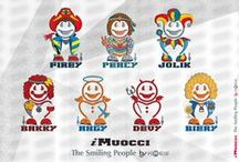 iMuocci - pin byTed / Il Popolo del Sorriso _ The Smiling People | Creative T-shirt & Gadget by Gianfranco Ted Cavaliere
