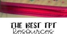 The Best of TPT Resources / This Pinterest board is filled with some of best resources ever from TeachersPayTeachers!