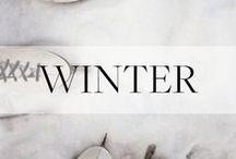 Winter Holiday Inspiration / Seasonal DIYs, recipes and inspiration for Christmas, Hannukah + more.