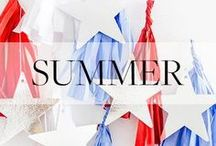 Summer Holiday Inspiration / Seasonal DIYs, recipes and inspiration for those scorching summer holidays.