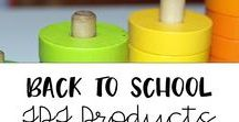 Back to School  TpT products / The best back to school Teachers Pay Teachers products for back to school