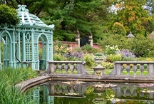Gardens + Gates + Grand Grounds + Greenhouses / Flowers/Fountains/Formal Gardens/Landscapes/Walkways / by Lil Springer