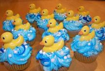 Baby Showers /  A collection of  gifts, decorations and Party Ideas