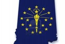 Tr - USA - Indiana BTDT / On being a Hoosier / by Melody Laudermilk-Stiak