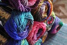 Paper. Twine. Yarn. Fabric.