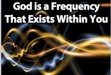 """*Spirituality and Enlightenment / """"Such a God would not be a person external to the universe, interfering with it from time to time. It would be more like the mind of the universe itself, the ultimate reality within which all things, intelligible and physical, exist, and part of the infinite reality of which all things express.""""  Professor Keith Ward http://www.gresham.ac.uk/lectures-and-events/religion-and-the-quantum-world / by Melody Laudermilk-Stiak"""