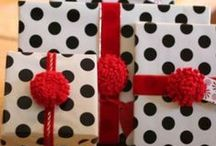 Gifts with Ribbons & Bows! / Gift and Gift Wrapping Ideas / by Ginger Simpson