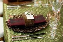 Tablescapes & Center Pieces / by Ginger Simpson
