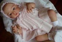 Reborn Baby Doll - Victoria - Adopted / Reborn baby girl Victoria, sculpt by Sheila Michael.