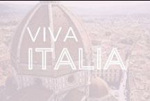 Viva Italia / All of our couture comfort magic comes from Italy so we are experts in what's hot in Italy. Come join us in discovering Italy.