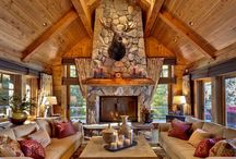 Dream mountain homes / My dream to own a mountain home someday, an inspiring getaway for writing, fun and family time.