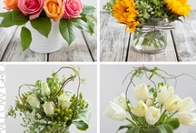 FLOWER ARRANGEMENTS / by TAMBRA FRANK