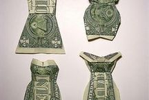 Crafts ~ Money Folds