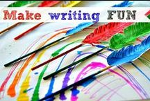 Writing Activities for Kids / Ideas to inspire the writer in your child