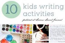 Handwriting Ideas for Kids / Activities that strengthen handwriting skills / by Erica Leggiero @ eLeMeNO-P Kids