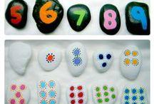 Math Activities for Kids / Math games, ideas, and activities.  / by Erica Leggiero @ eLeMeNO-P Kids