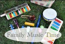 Music for Kids / Musical games and activities / by Erica Leggiero @ eLeMeNO-P Kids