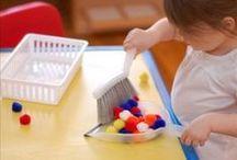 Montessori-Inspired Activities / Creating Montessori activities and environments / by Erica Leggiero @ eLeMeNO-P Kids