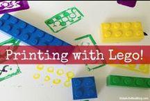 Lego Learning / Using legos to learn / by Erica Leggiero @ eLeMeNO-P Kids