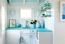 Funky Kitchens / and eat in areas  / by Christine W.