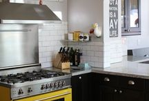 kitchen&&dining / pretty places to sit, eat and cook -