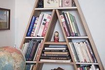 Bibliotecas   Bookshelves / Decoración con libros.