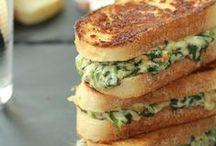 Paninis and Quesadillas / Yum Yum / by Jennifer Hatfield