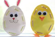 Easter Activities for Kids / Craft ideas, recipes, Easter egg hunts, printables and more! / by Erica Leggiero @ eLeMeNO-P Kids