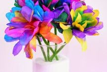Spring Activities for Kids / Lots of Spring themed arts and crafts, activities, outdoor fun, and invitations to play