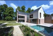 Detached House for sale Mottram St Andrew, Cheshire SK10 4QT / A contemporary, cutting edge, bespoke 5 bedroom house with a breathtaking interior, nestled in over 5 acres of exquisite landscaped gardens.  £2,250,000