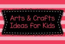 Arts & Crafts Ideas for Kids / Lots of great ideas for teaching arts and crafts for kids in mostly to Pre-K, Kindergarten, and first graders, but also some ideas for older kids, too!    Visit me at www.heidisongs.com.